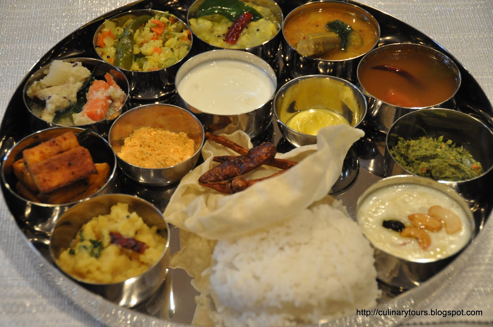 thali meal